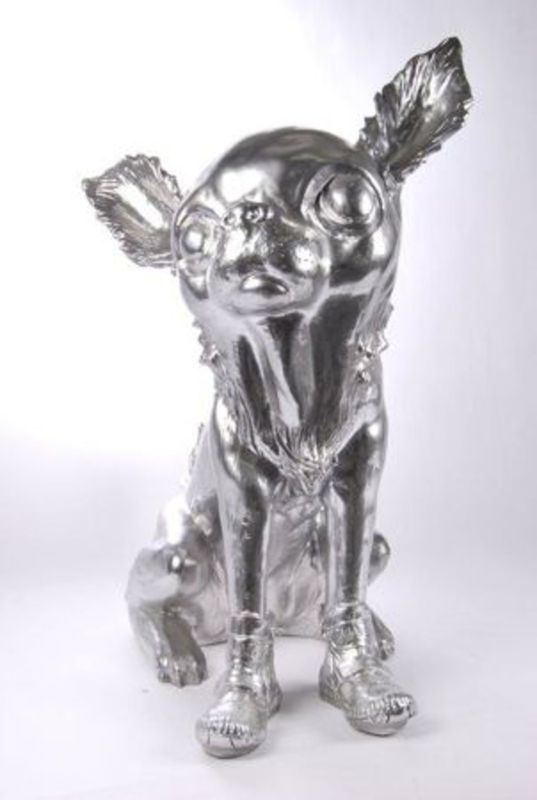 William SWEETLOVE - Estampe-Multiple - Cloned Silver Chihuahua