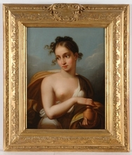 "Ludwig DOELL - Peinture - ""Pandora"", ca. 1820, from Royal Collection"