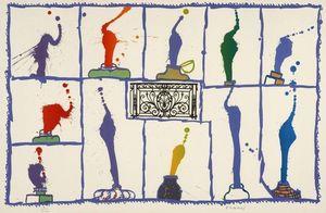 Pierre ALECHINSKY - Print-Multiple - Ink