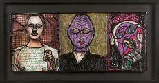 Robert COMBAS - Pintura - Three Faces