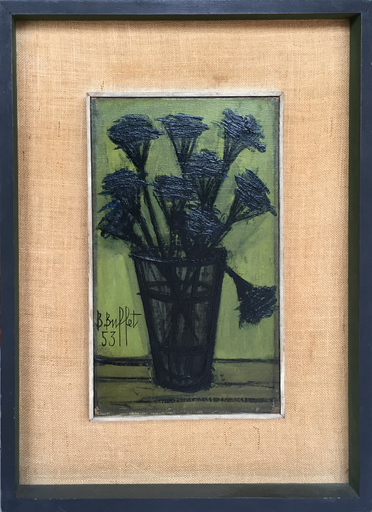 贝纳•毕费 - 绘画 - Still Life of Flowers