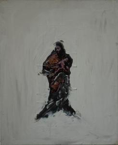 Philippe PASQUA - Peinture - Madonna with Child