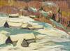 Bruno COTÉ - Gemälde - Le Plateau