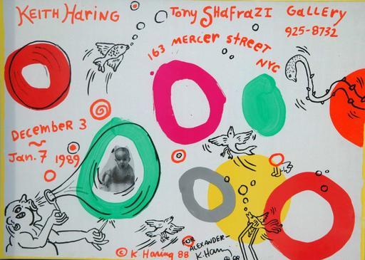 Keith HARING - Estampe-Multiple - Tony Shafrazi