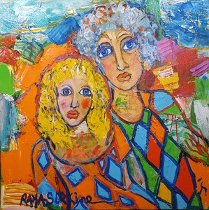 RAYA - Painting - Le Message
