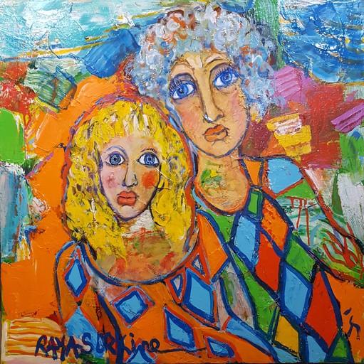 RAYA - Peinture - Le Message