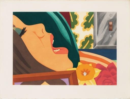 汤姆•韦瑟尔曼 - 版画 - Bedroom face
