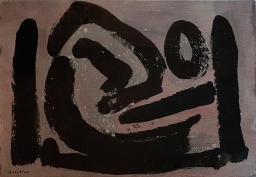 Enrico ACCATINO - Gemälde - Composition, 1963