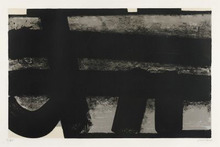 Pierre SOULAGES - Estampe-Multiple - Lithographie n° 35