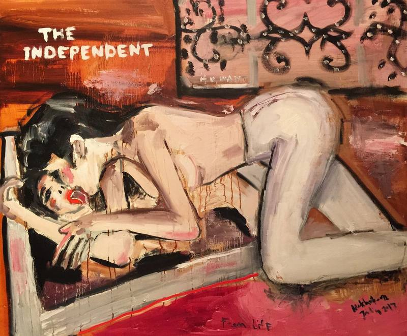 Julia PEKER-MOKHOVIKOVA - Pintura - The INDEPENDENT