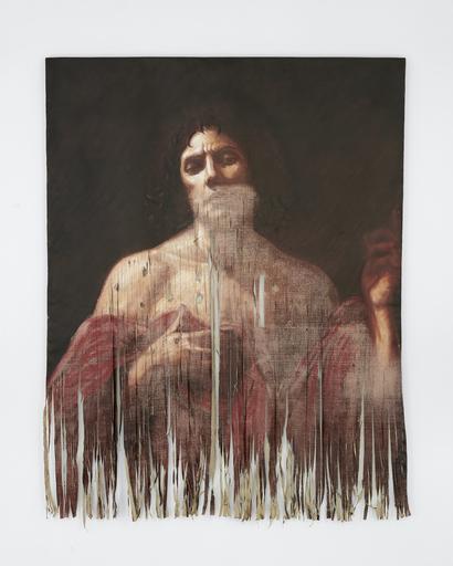 Titus KAPHAR - Pintura - Untitled (Martyr)