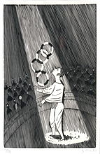 Gerhard MARCKS - Grafik Multiple - Jongleur