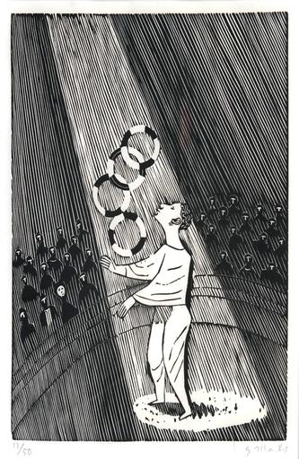 Gerhard MARCKS - Print-Multiple - Jongleur