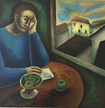 FABIEN - Painting - «Le Contrat»