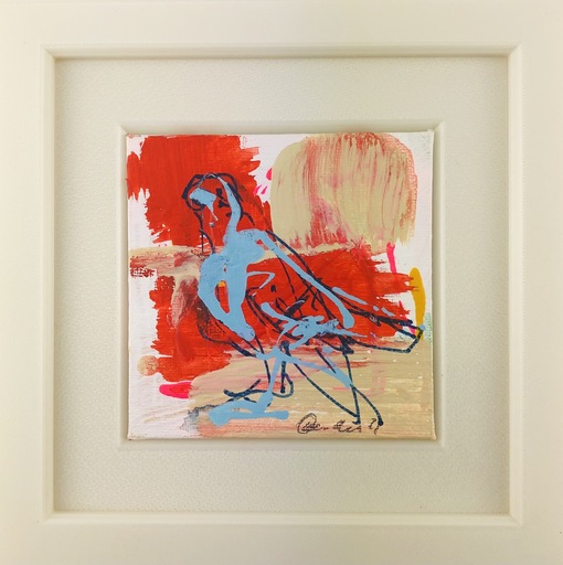 Nicole LEIDENFROST - Gemälde - Es ist ein Falke