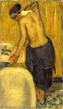 Auguste DUREL - Painting - La toilette