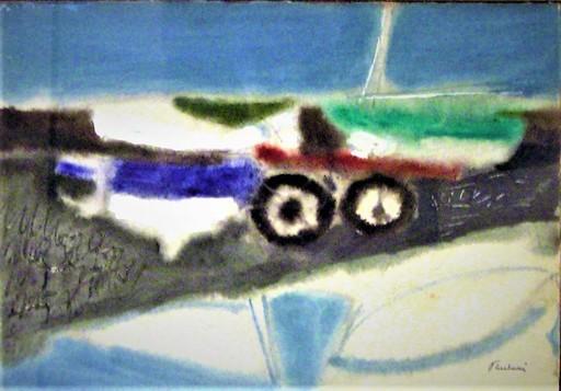 Enrico PAULUCCI - Gemälde - Marina