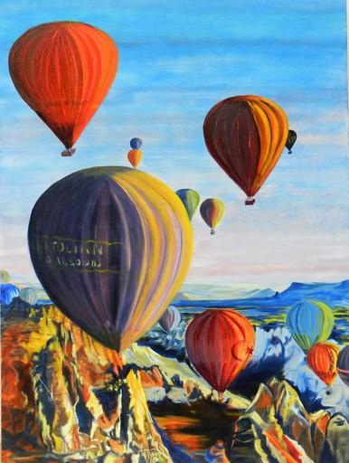 Brigitte MATHÉ - Peinture - Cappadoce