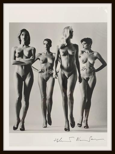 Helmut NEWTON - Photo - Sie Kommen, Nude, Paris 1981