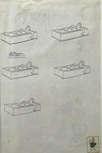 Alighiero BOETTI - Dibujo Acuarela - Senza Titolo