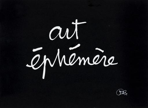 BEN - Disegno Acquarello - Art éphémère