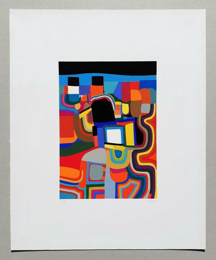 Alberto BURRI - Print-Multiple - Trittico E - Serigrafia 1-E