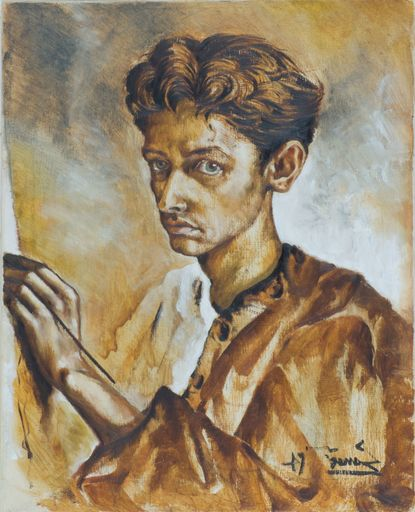 Nicola SAMORI - Peinture - Selfportrait