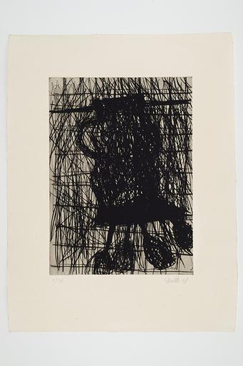 Georg BASELITZ - Print-Multiple - Die Vase (Le vase)