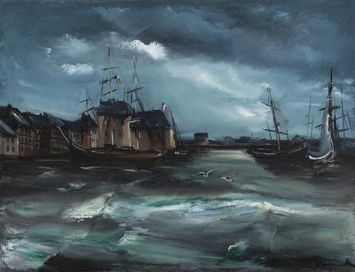 Maurice DE VLAMINCK - Peinture - Le port de Honfleur