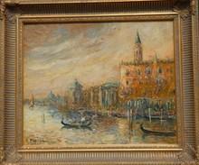 Robert MOGISSE (1933) - Venise, plais des doges.