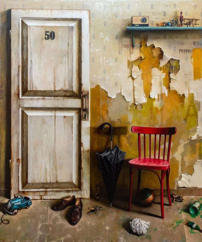 Dmitry YUZEFOVICH - Gemälde - Door No 50