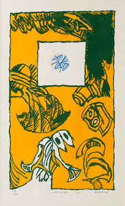 Pierre ALECHINSKY - Print-Multiple - Herbes Potagéres