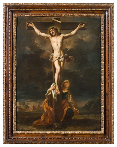 Alessio D'ELIA - Painting - Crucifixion