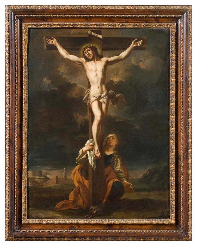 Alessio D'ELIA - Gemälde - Crucifixion