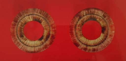 Bernard AUBERTIN - Pittura - Senza titolo