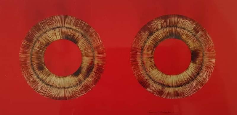 Bernard AUBERTIN - Peinture - Senza titolo