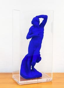 Yves KLEIN, L'esclave mourant d'après Michel Ange