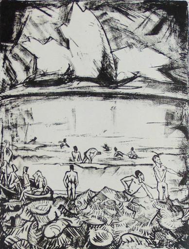 埃里希·黑克尔 - 版画