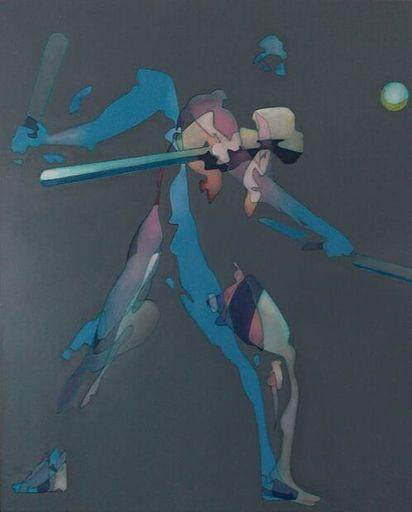 Milburn FOSTER - Peinture - The Baseball Player
