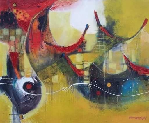 R.U. SUBAGIO - Painting - Spirit From The Land of Soraja
