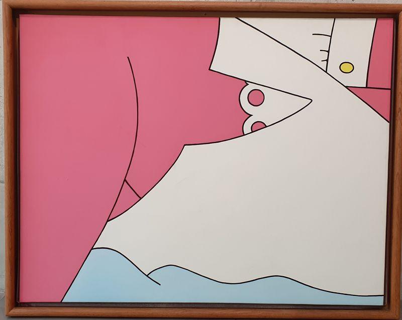 Gérard SCHLOSSER - Gemälde - le voyage de noce
