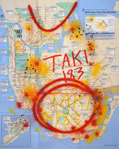 TAKI 183 - Painting - sans titre