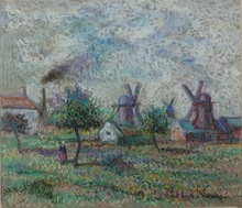 Paul Émile PISSARRO (1884-1972) - Les Moulin
