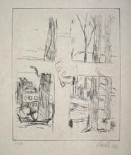 乔治•巴塞利茨 - 版画 - Kreuz