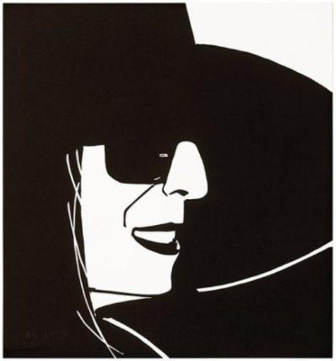 Alex KATZ - Estampe-Multiple - Black Hat (Ada)