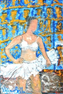 Valerio BETTA - Painting - Ballerina
