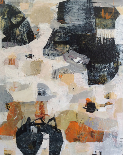 Linda COPPENS - Painting - Haikyo VII