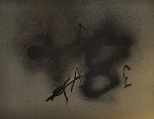 安东尼•塔皮埃斯 - 版画 - Erinnerungen V