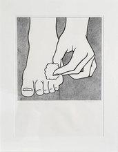 Roy LICHTENSTEIN - Estampe-Multiple - Foot Medication (C.App.3)