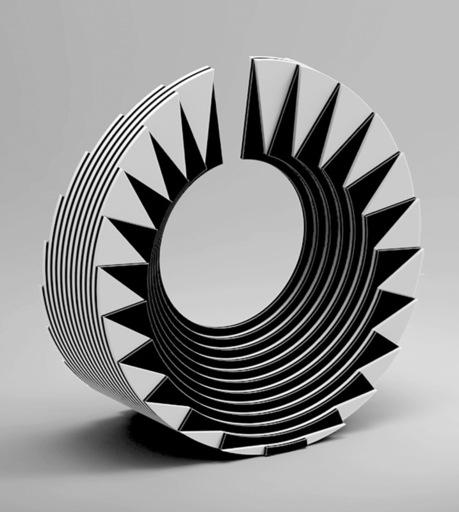 Marcello MORANDINI - Sculpture-Volume - Scultura 577/2011